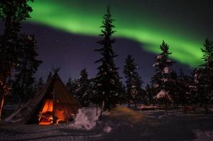 svezia aurora boreale