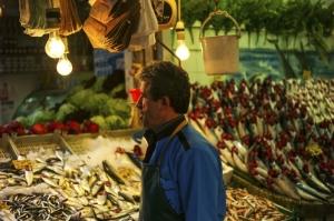 Istanbul, il mercato di Kadokoy.