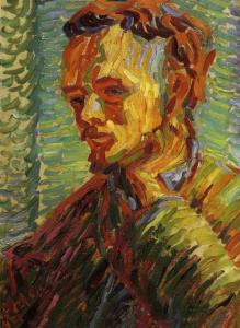 Heckel, Giovane uomo- Autoritratto