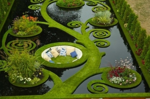 Sunken Alcove Garden