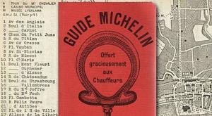Una delle prime guide Michelin pubblicate in Francia.