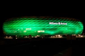 ALLIANZ ARENA, HOME TO BAYERN MUNICH, JOINS TOURISM IRELAND'S
