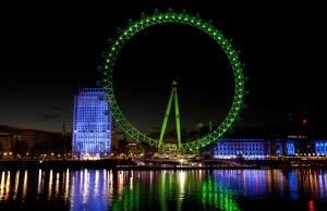 THE LONDON EYE JOINS TOURISM IRELAND'S GLOBAL GREENING