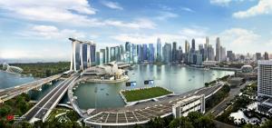 Vista di Singapore