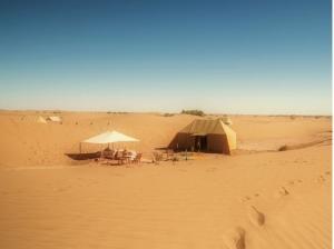 Campo di dune Dar Azawad, Marocco