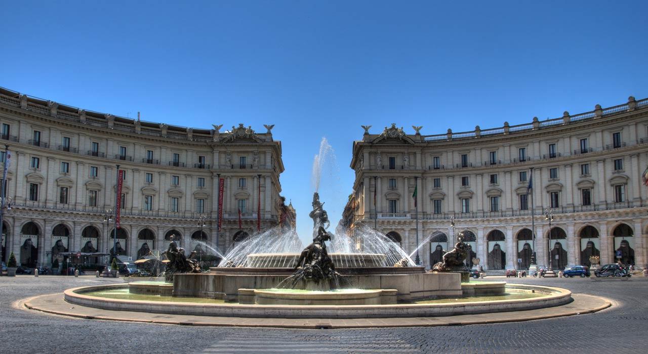 Da piazza della repubblica a via nazionale fino al for Palazzo delle esposizioni via nazionale roma