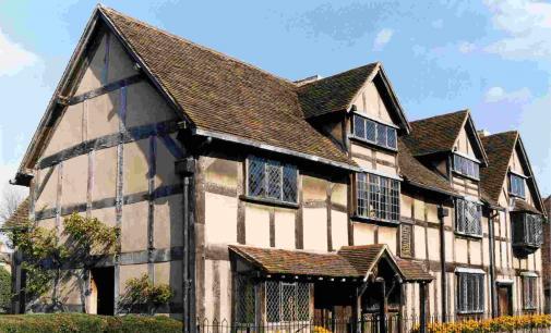 Viaggio nei luoghi di shakespeare tgtourism for Piani inglesi della casa del cottage del tudor