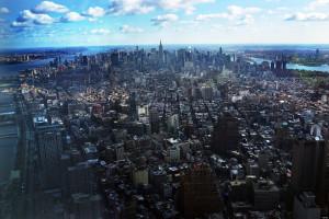 Vista di New York dall'Observatory