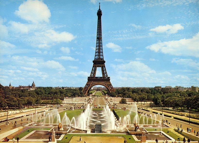 Картинки анимация парижа