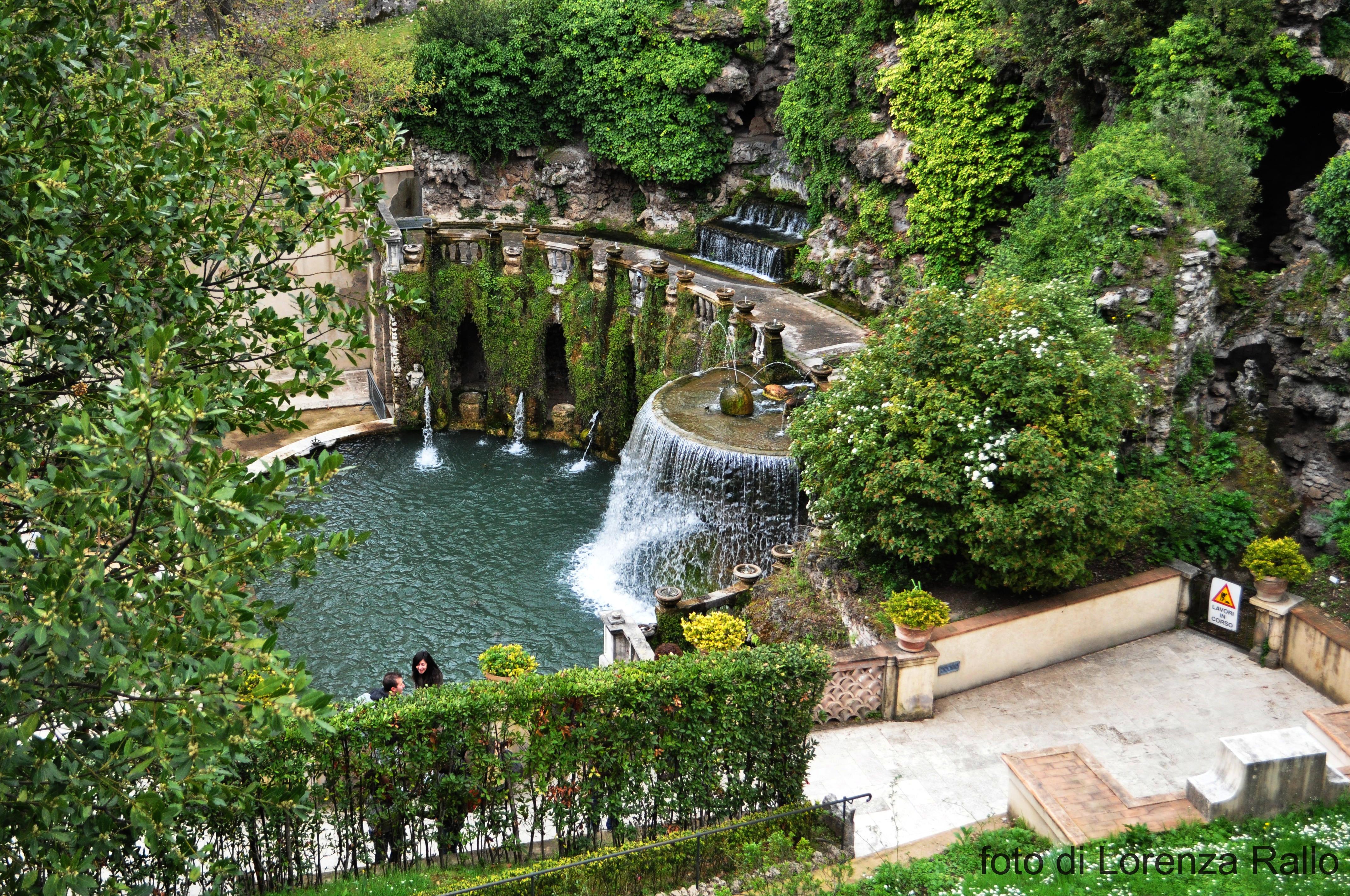 Villa d 39 este tivoli giochi d 39 acqua sotto le stelle for Vajilla villa d este
