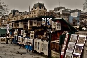 bouquinistes paris parigi