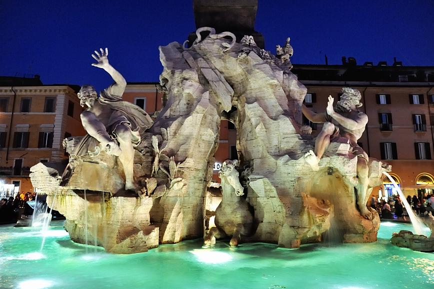 5 cose di bernini da vedere a roma tgtourism - Portano acqua ai fiumi ...
