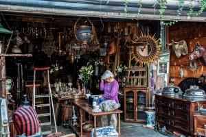 Mercato delle pulci di Saint-Ouen parigi