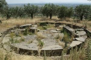 tomba etrusca, Cortona