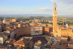 Siena, piazza campo