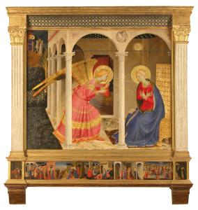 L'Annunciazione di Cortona - Beato Angelico