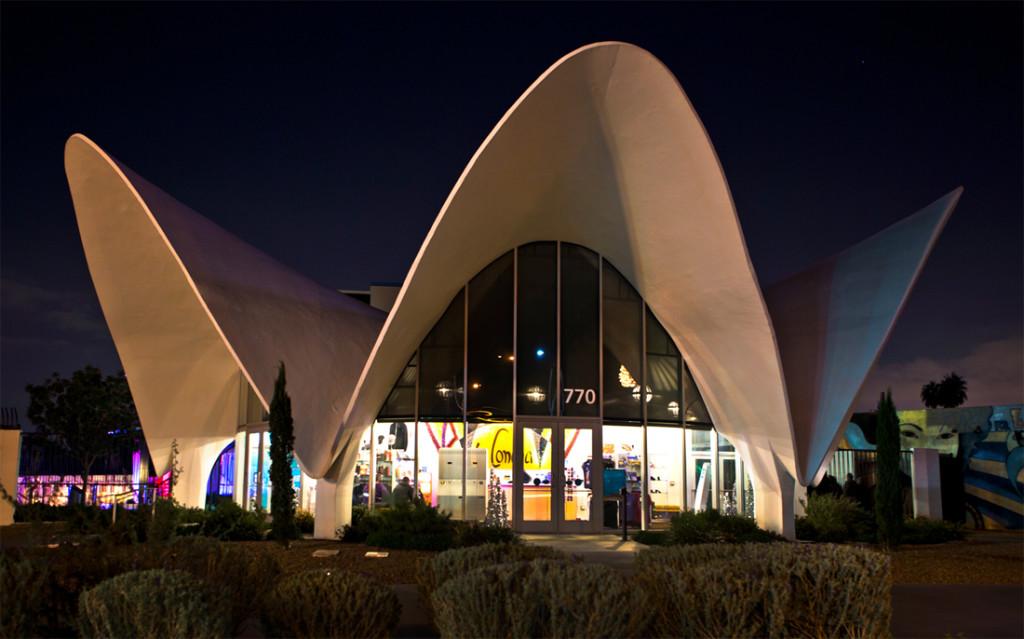 La Concha Visitors Center del Neon Museum las vegas nevada