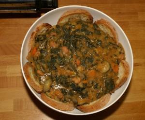 Zupa alla pisana