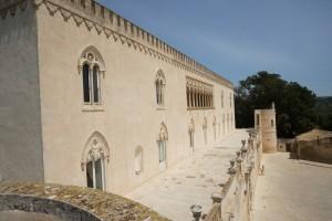 La loggia del Castello di Donnafugata