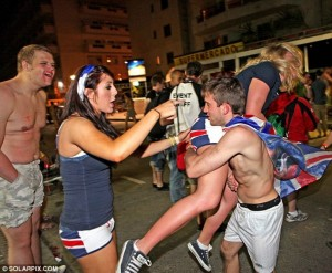 Turisti ubriachi