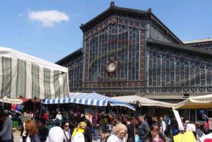antica tettoia dell'orologio torino mercato