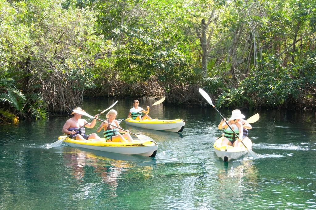 kayak messico cenote