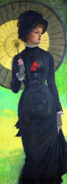 Signora con l'ombrello (1878-1880)