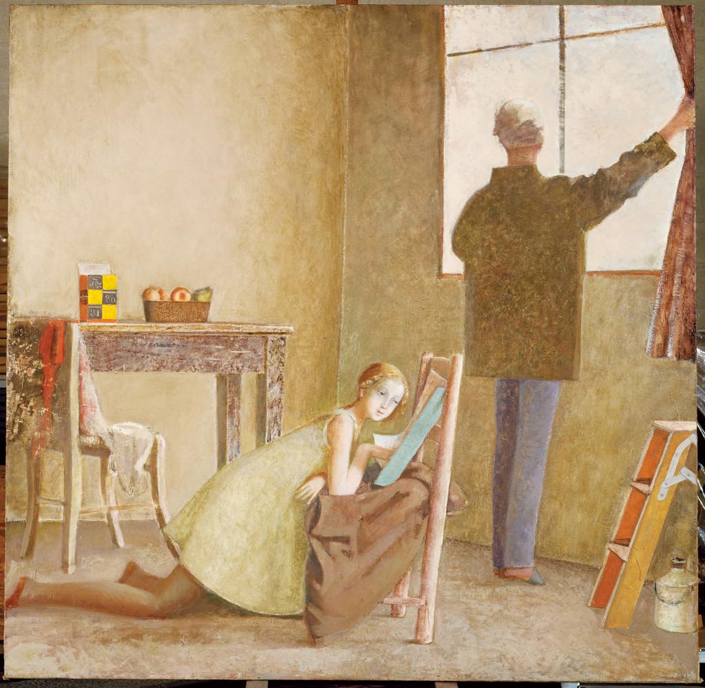 Le peintre et son modèle balthus