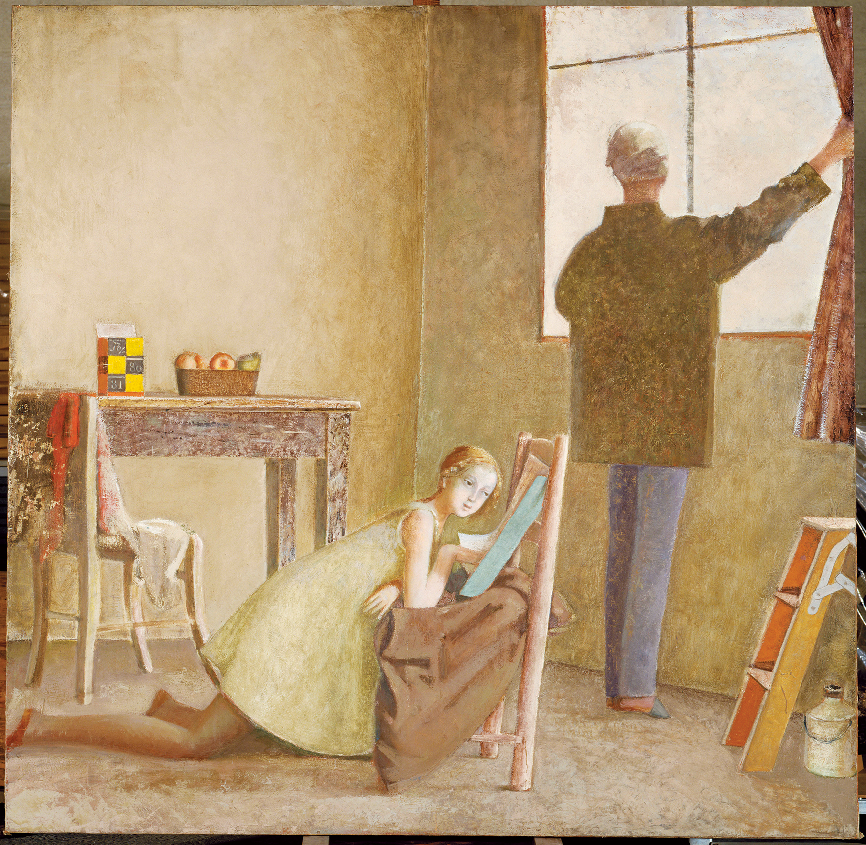 Balthus un artista enigmatico in due mostre a roma for Balthus alice dans le miroir
