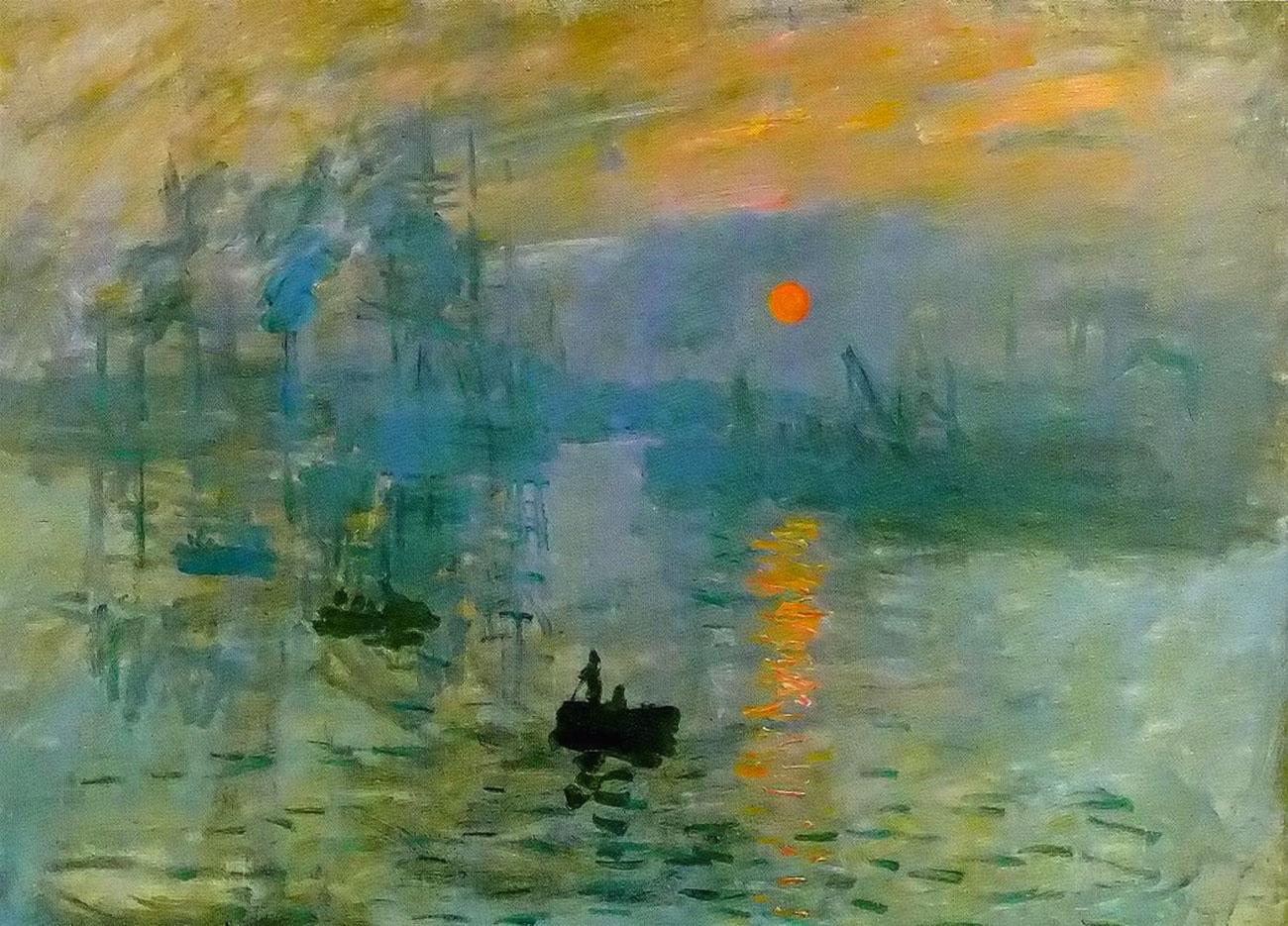 Impressione: levar del Sole - Claude Monet