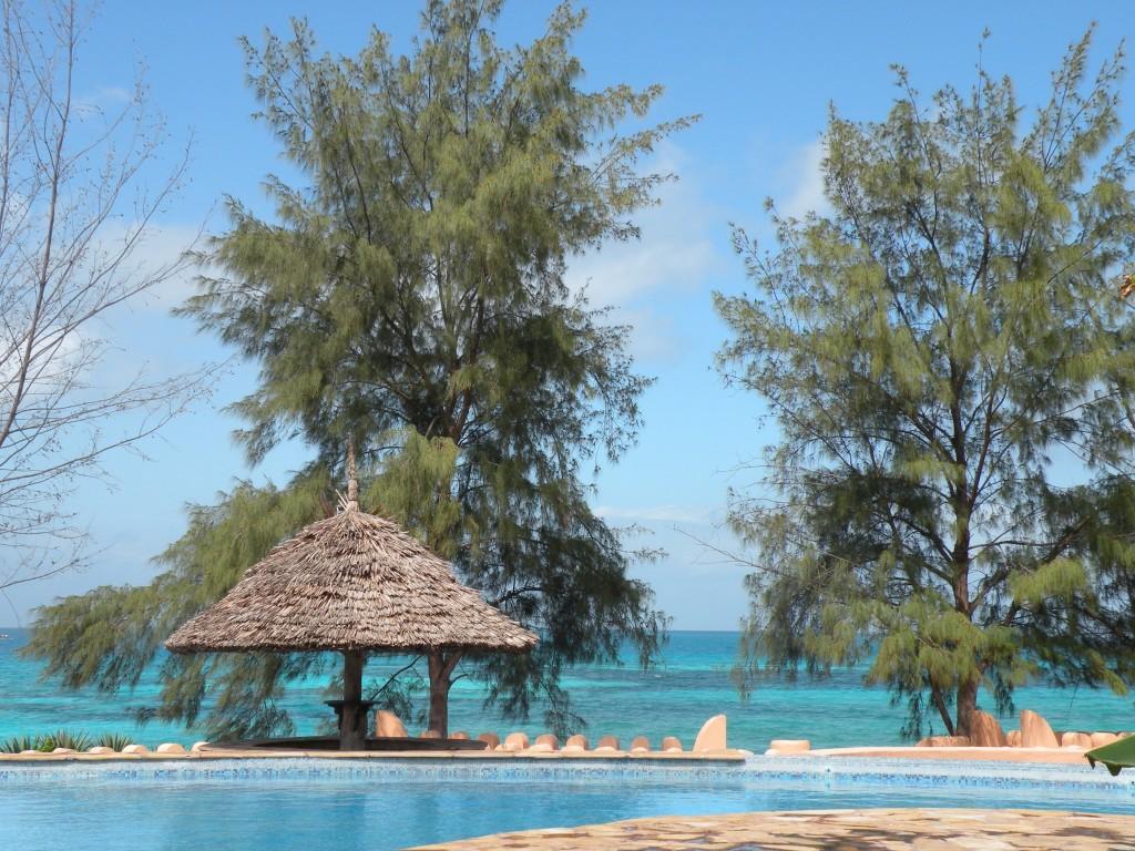 natale esotico Isola di Zanzibar