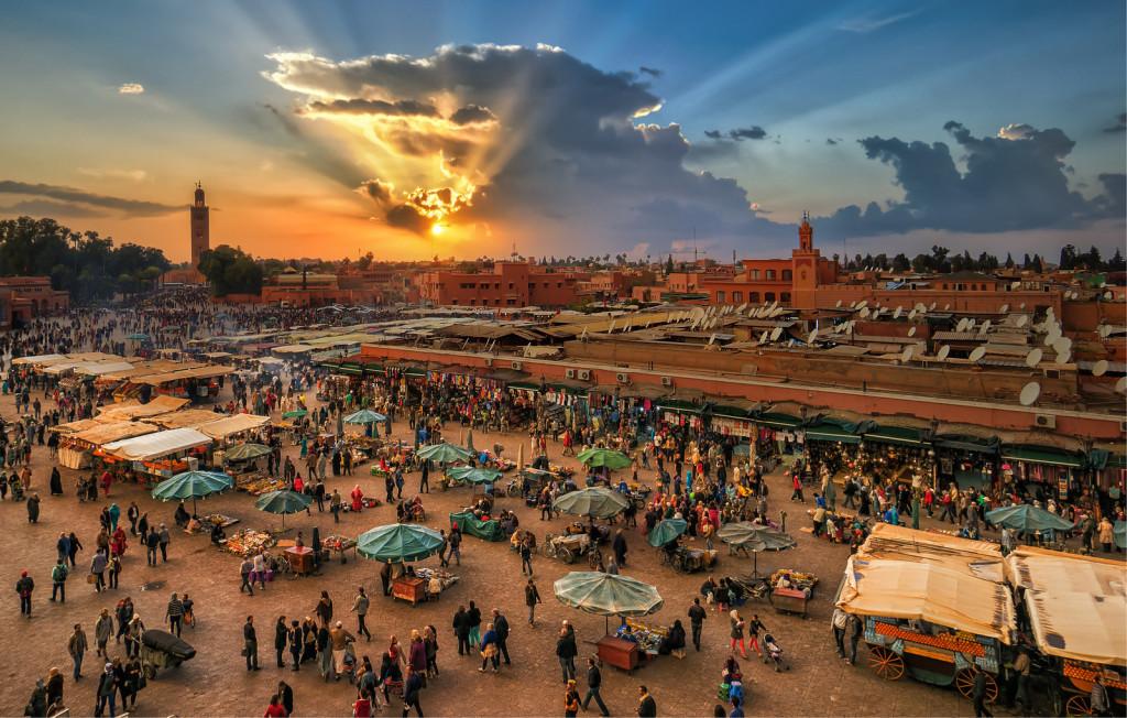 marrakech natale esotico