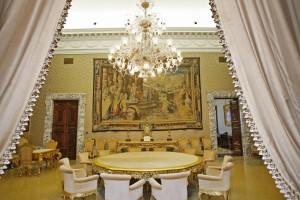 """20090311 - ROMA - SPE : TORNA GIORNATA FAI, PORTE APERTE IN 580 LUOGHI D'ARTE. LA MANIFESTAZIONE SI SVOLGERA' IL 28-29/3 IN 210 CITTA'.  L'interno di Palazzo Koch, a Roma, sede della Banca d'Italia, aperto eccezionalmente al pubblico durante la 17/a edizione della """"Giornata FAI di primavera"""", che il 28 e 29 marzo permettera' di visitare, in 210 citta' italiane, 580 beni, in gran parte dei casi normalmente chiusi al pubblico. ANSA / ALESSANDRO DI MEO / PAL"""