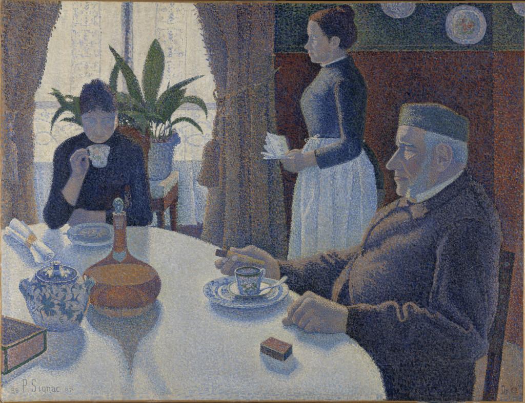 La sala da pranzo (Signac)