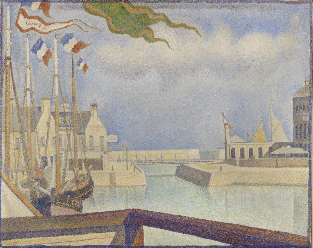 Domenica a Port-en-Bessin (Seraut, 1888)