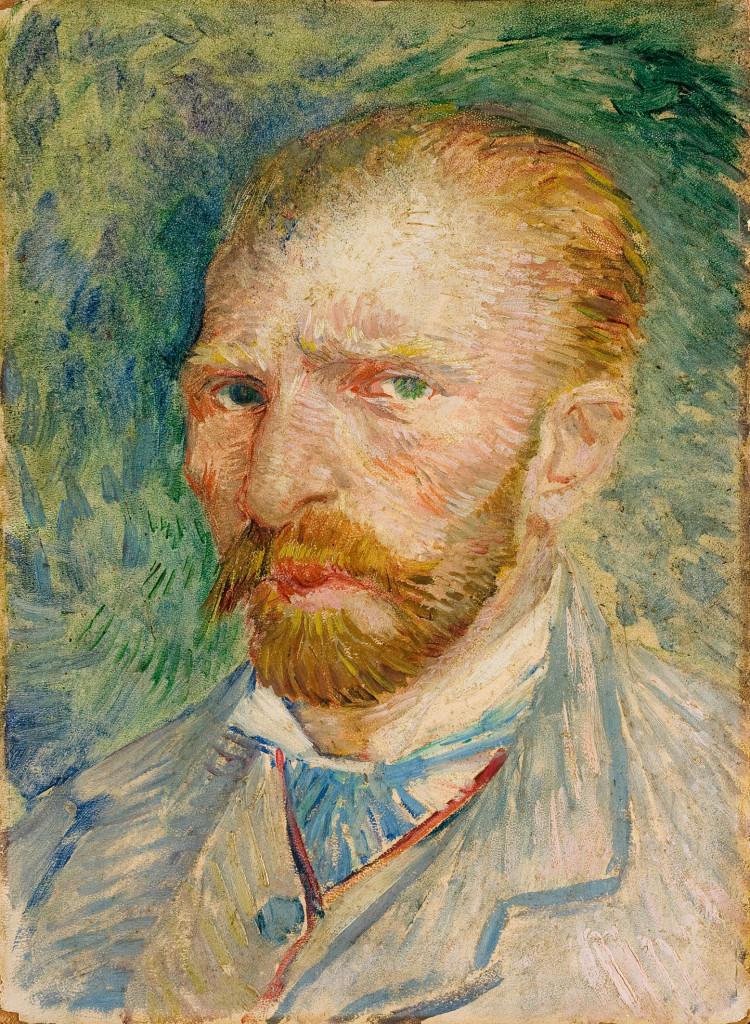 Autoritratto di Van Gogh (1887)