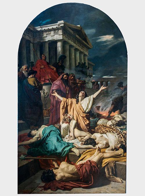 I Maccabei Antonio Ciseri (Ronco sopra Ascona 1821-Firenze 1891), 1857-1863, olio su tela, cm 463,5 x 265,5. Firenze, Chiesa di Santa Felicita.
