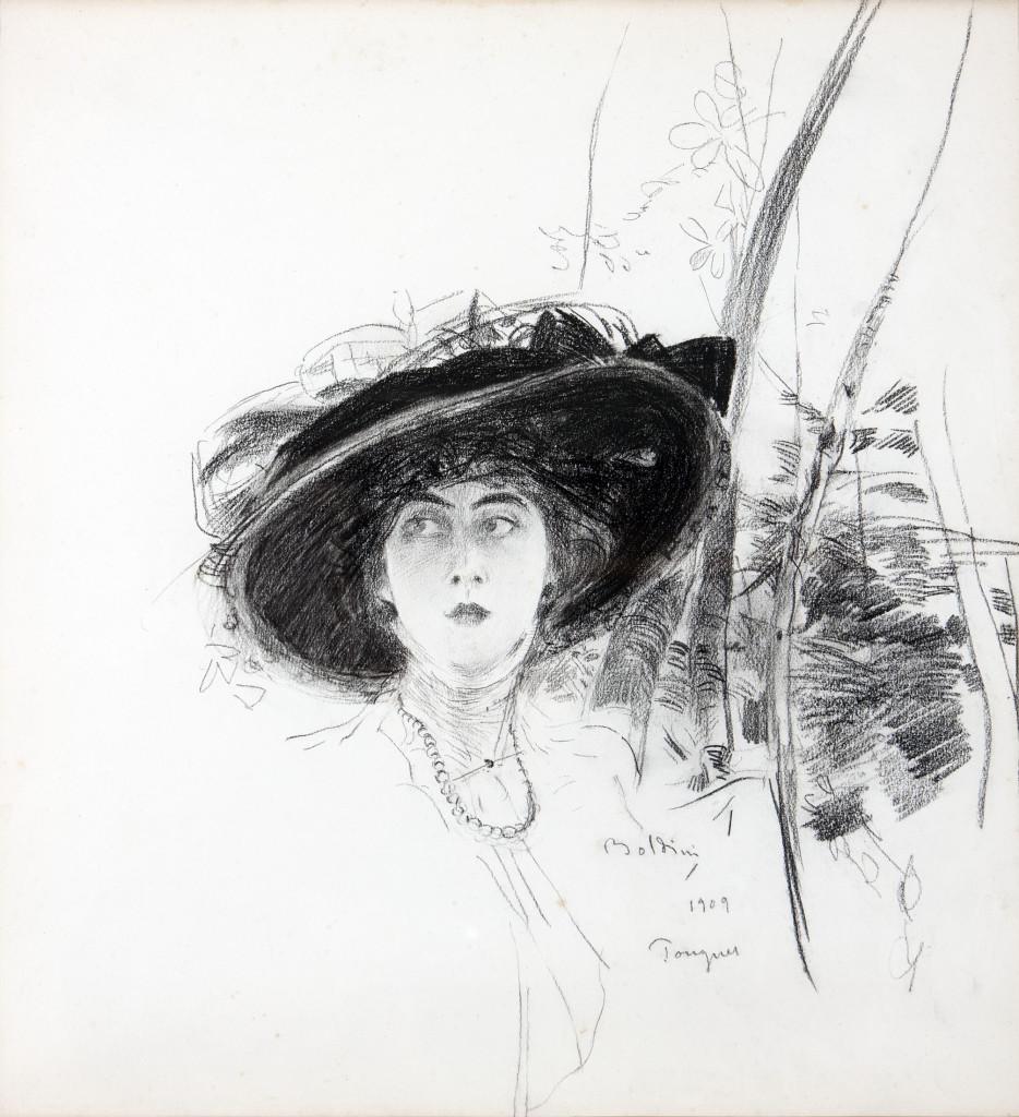 """Eugénie Legrip, """"Divina"""" (1909)"""