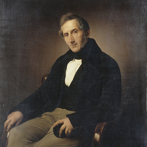 hayez Ritratto di Alessandro Manzoni (1841)