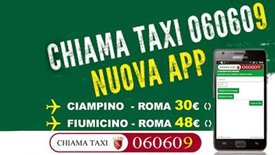 App Chiama Taxi Roma