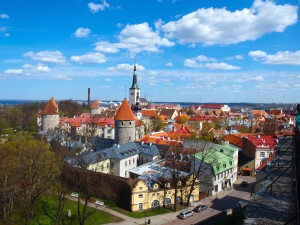 Tallin, capitale dell'Estonia