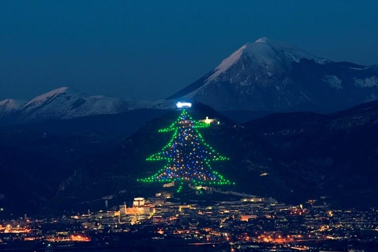 Albero di NataleGubbio, Umbria
