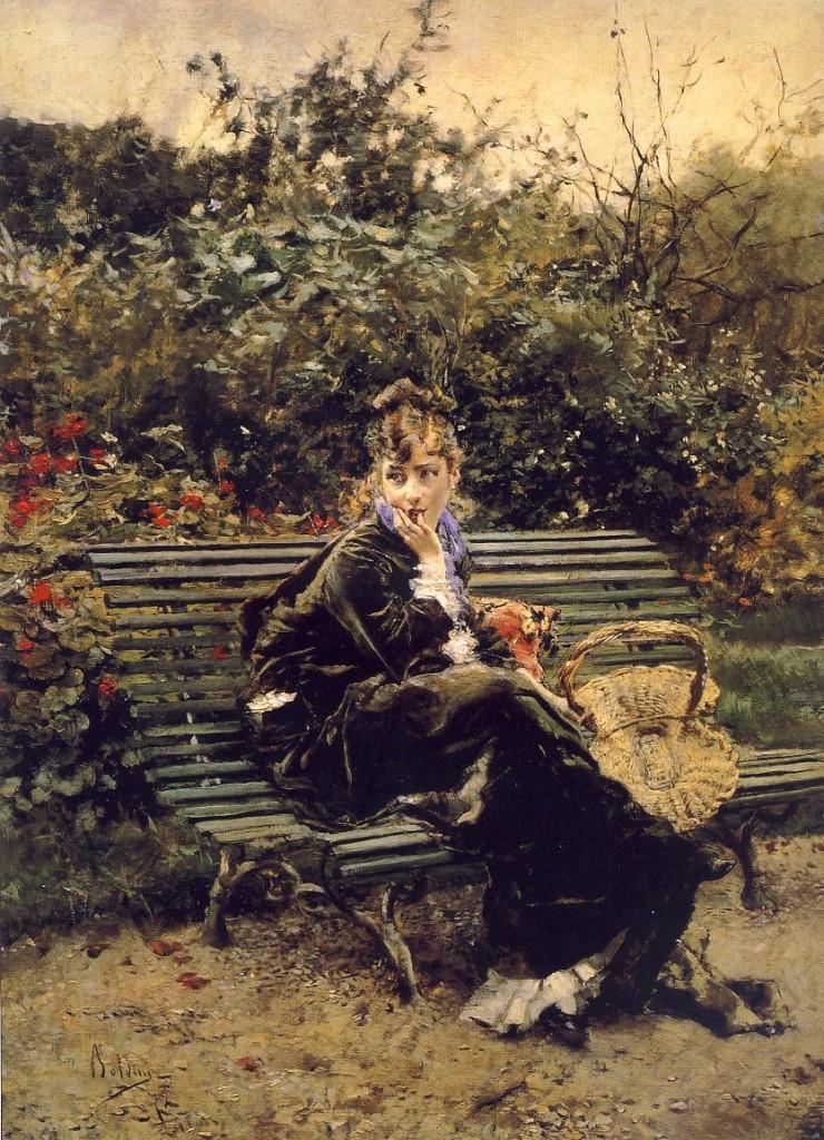 Sulla panchina al Bois (1872)