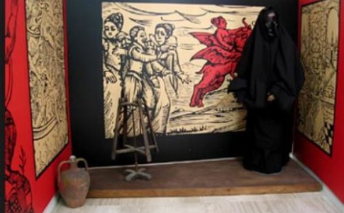 Museo S'omo 'e sa Majarza : la casa strega