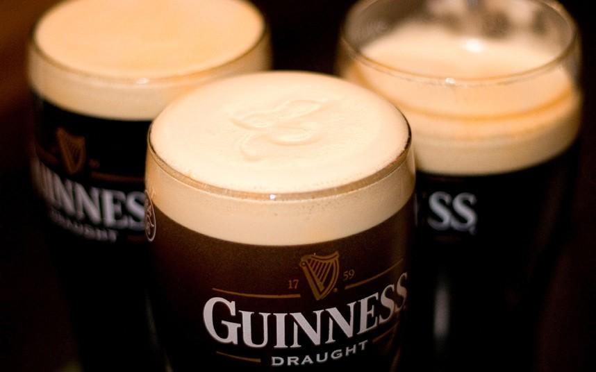 Pinta di birra Guinness