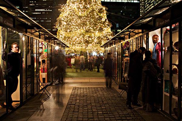 Holiday Shop - Bryant Park