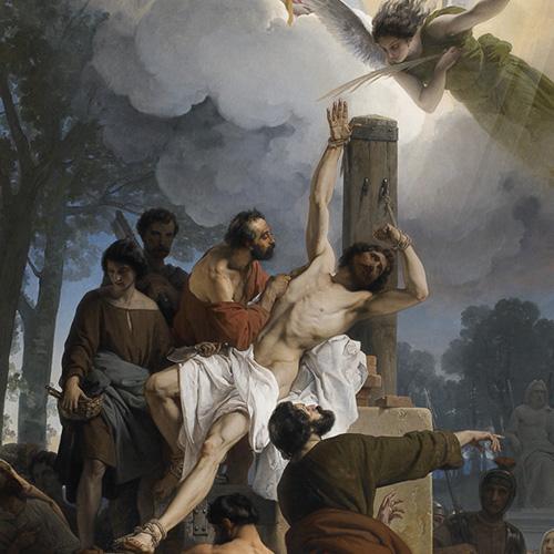 il martirio di San Bartolomeo hayez