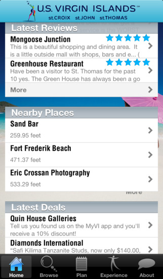 My Virgin Islands App