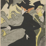 Henri de Toulouse-Lautrec Divan Japonais 1893 Lithograph (in four colours) on wove paper, 81x62,3 cm Budapest, Galleria Nazionale (Szepmuveszeti Muzeum)