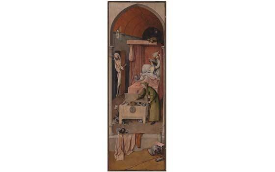 De dood van een vrek Ca. (1488-1516)